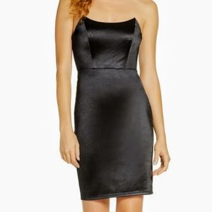 LULUS STRAPLESS COCKTAIL DRESS